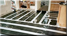 FloorHeat radiant heating element.